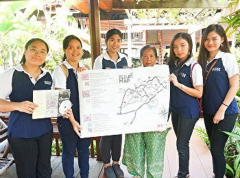 นักศึกษาสาขาการจัดการท่องเที่ยวทัศนศึกษา ณ ชุมชนท่าคาและอำเภออัมพวา จ.สมุทรสงคราม