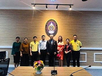 Lecturers from Tourism Management take a part of OTOP Community Development Project' and 'Aomsin Yuwaphat Rakthin Project