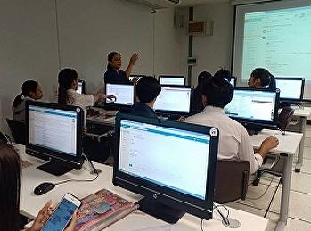 นักศึกษาสาขาการจัดการท่องเที่ยวเข้าร่วมการอบรมการใช้โปรแกรม Microsoft Office