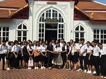 นักศึกษาสาขาการท่องเที่ยวทัศนศึกษา ณ พิพิธภัณฑสถานแห่งชาติ พระนคร