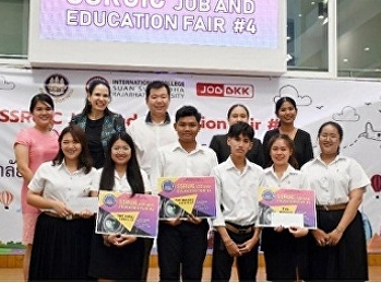 International College Suan Sunandha and Department of International Tourism Management, together with the Nakhon Pathom Department of Employment, and Job BKK, held the SSRUIC Job and Education Fair 2019