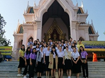 Lecturers and Students from Tourism Management led second Tour to Nakhon Pathom and Bangkok for Students from Guilin University of Aerospace Technology