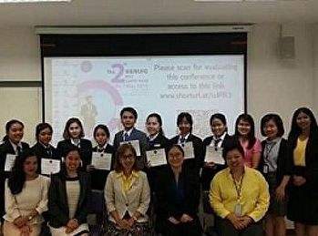 นักศึกษาสาขาการจัดการท่องเที่ยวร่วมงานประชุมวิชาการ SSRUIC Mini Conference ครั้งที่ 2 ประจำปี 2562