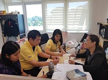 อาจารย์ประจำสาขาการจัดการท่องเที่ยวจัดประชุมสาขาวิชาก่อนจบปีการศึกษา 2562