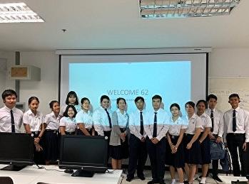 นักศึกษาสาขาการจัดการท่องเที่ยวพบปะรุ่นน้องชั้นปีที่ 1 ปีการศึกษา 2562