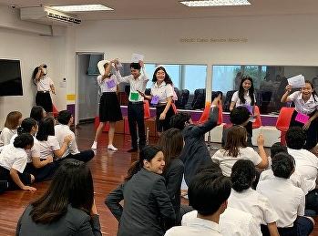 นักศึกษาและอาจารย์เข้าร่วมงานวันแรกพบนักศึกษาชั้นปีที่ 1 สาขาการจัดการท่องเที่ยว วิทยาลัยนานาชาติ มรภ.สวนสุนันทา