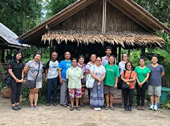 Lecturers from Tourism Management, SSRUIC, joined fieldtrip to Western Coastal Areas of Thailand for Research in Spa and Wellness Tourism Development