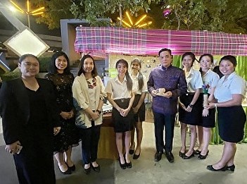 """SSRUIC Tourism Management Students Won the Honorable Mention from """"Say No to Plastic"""" Competition by TCEB"""
