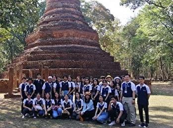 สาขาการจัดการท่องเที่ยว วิทยาลัยนานาชาติ จัดโครงการ แอ่วเหนือ แล อาเซียน 2 ประเทศ ประจำปี 2562
