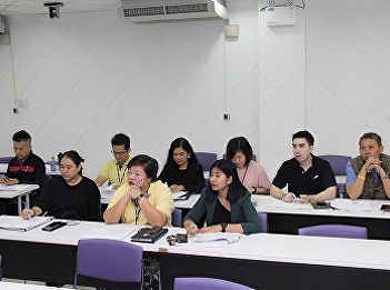 Lecturers from Tourism Management joined College Meeting for Upcoming Semester 2/2019