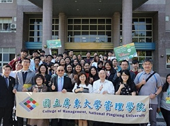 2nd Tourism Management Students spent a Wonderful Moment in Taiwan