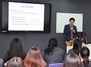 สาขาการจัดการท่องเที่ยว วิทยาลัยนานาชาติ มรภ.สวนสุนันทา จัดบรรยายพิเศษโดยทัคคุเทศก์มืออาชีพ