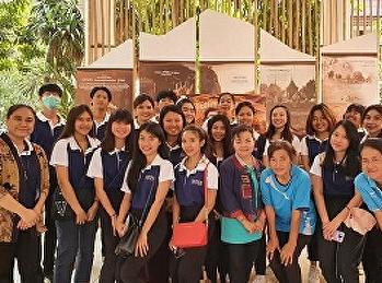 นักศึกษาชั้นปีที่ 2 สาขาการจัดการท่องเที่ยว ร่วมทัศนศึกษา ณ อำเภออู่ท่อง จังหวัดสุพรรณบุรี