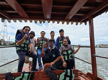 Tourism lecturer joined a river trip with South Bangkok Power Plant, Samut Prakan Province