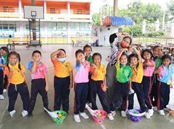 โครงการ English Day Camp ณ โรงเรียนวัดป่างิ้ว จังหวัดปทุมธานี